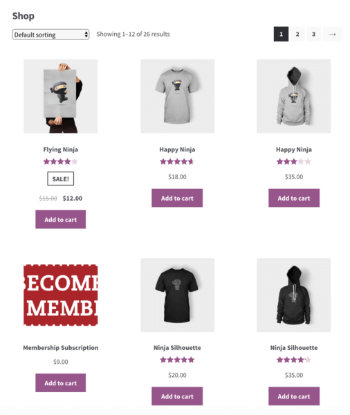 catalog woocommerce before