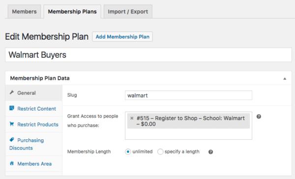 WooCommerce Memberships vendor access