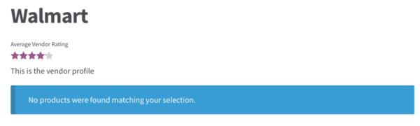 WooCommerce vendor restricted
