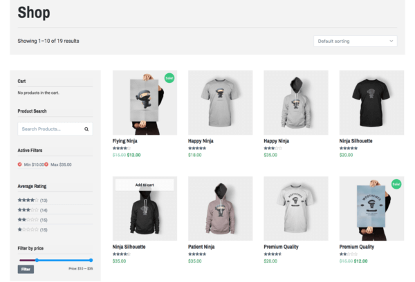Lenscap Review: WooCommerce Shop Page