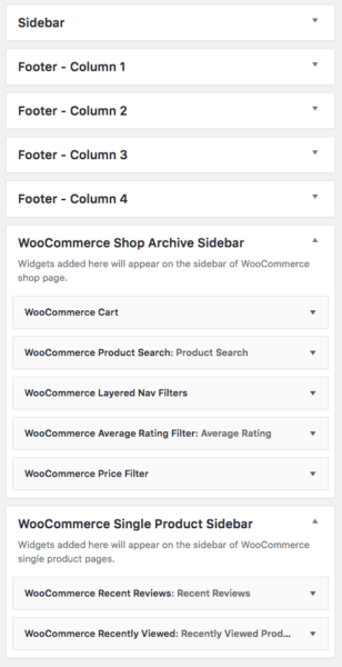 Lenscap Review: WooCommerce widget set up
